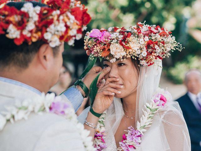 Jay and Noran's Wedding in Bora Bora, French Polynesia 4