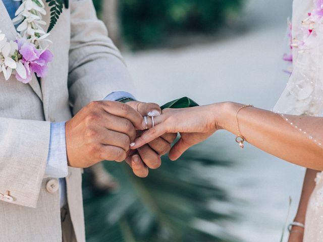 Jay and Noran's Wedding in Bora Bora, French Polynesia 5