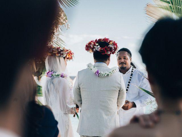 Jay and Noran's Wedding in Bora Bora, French Polynesia 7