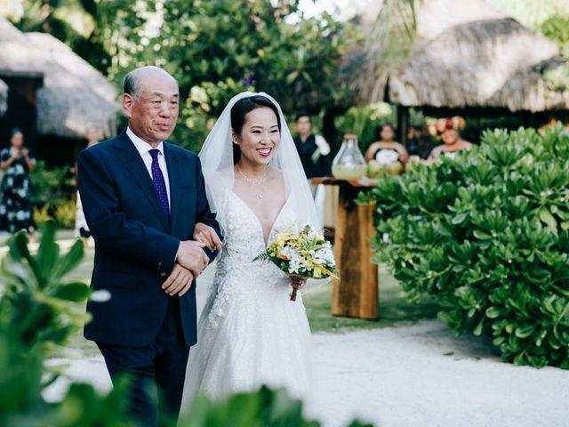 Jay and Noran's Wedding in Bora Bora, French Polynesia 10