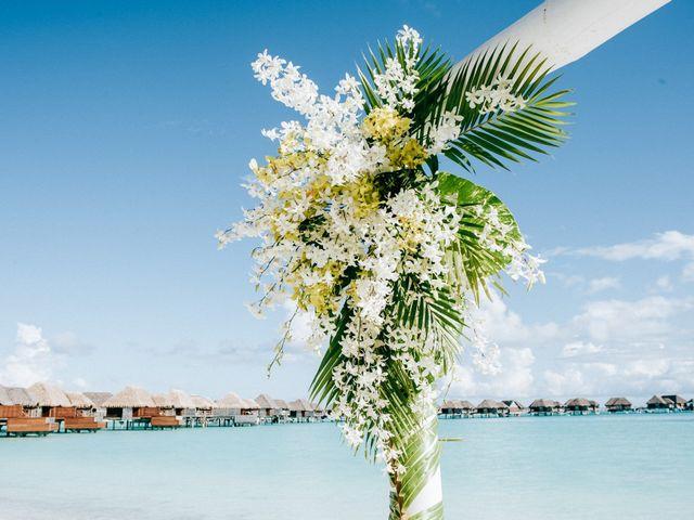 Jay and Noran's Wedding in Bora Bora, French Polynesia 12
