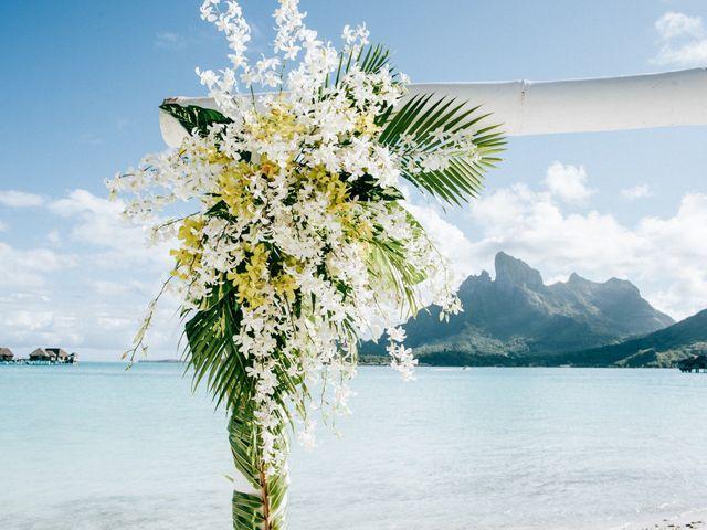 Jay and Noran's Wedding in Bora Bora, French Polynesia 13