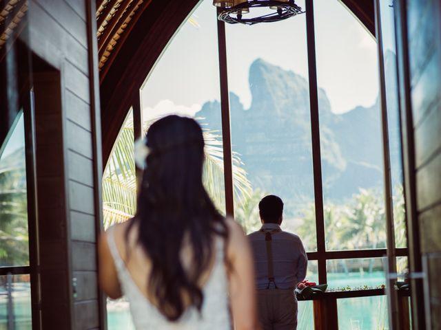 Jay and Noran's Wedding in Bora Bora, French Polynesia 16