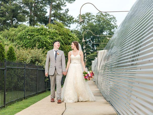The wedding of Anna and Jason