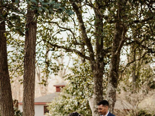 Justin and Makayla's Wedding in Tate, Georgia 4