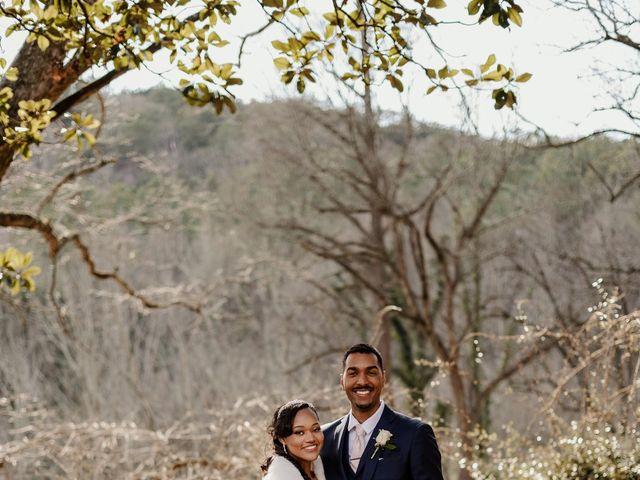 Justin and Makayla's Wedding in Tate, Georgia 5