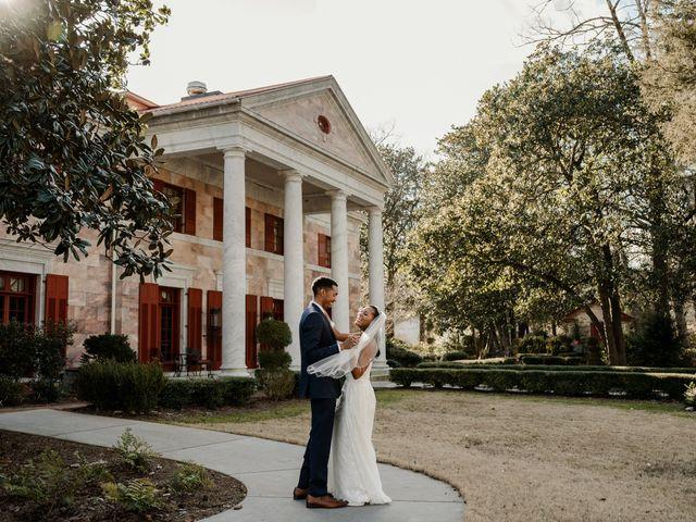 Justin and Makayla's Wedding in Tate, Georgia 17