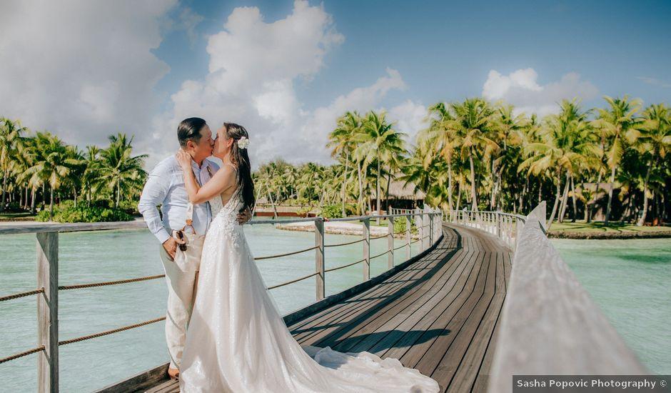 Jay and Noran's Wedding in Bora Bora, French Polynesia