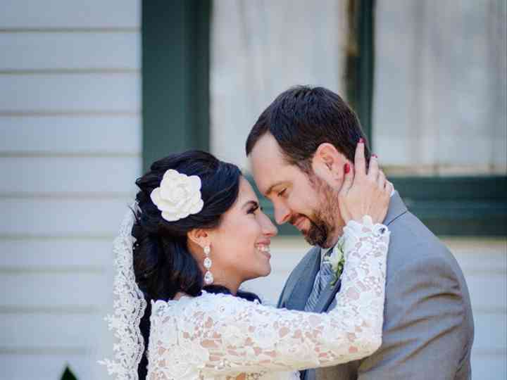 The wedding of Justin and Melonie