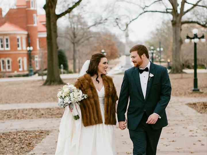 The wedding of Landon and Aleshia