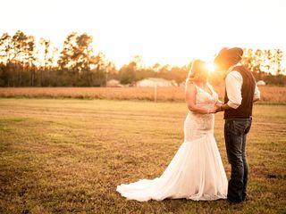 The wedding of Morgan and Randy