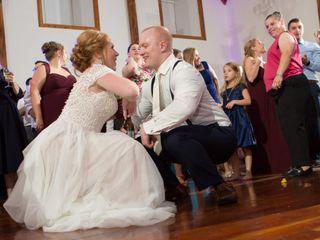 The wedding of Erica and Gavin 1