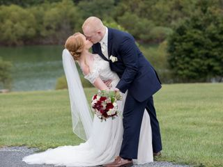 The wedding of Erica and Gavin
