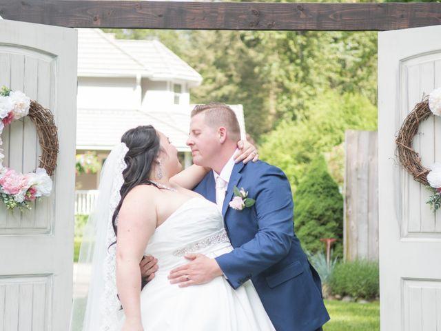 The wedding of Brindi and Nick