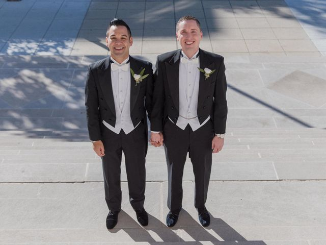 The wedding of Rico and Steven