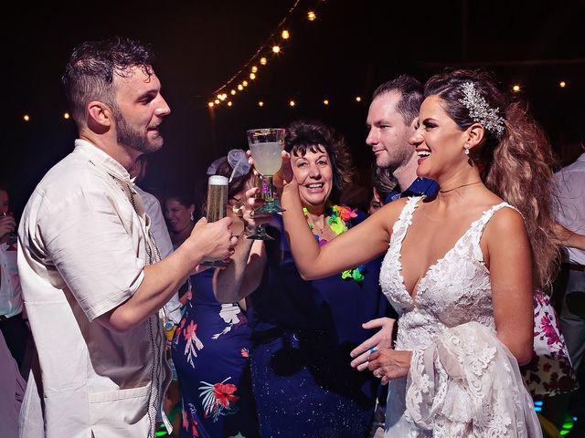 Tristan and Jimena's Wedding in Tulum, Mexico 9