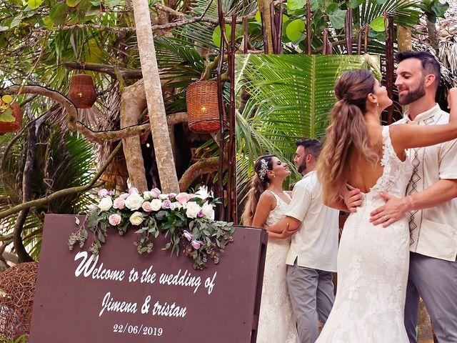 Tristan and Jimena's Wedding in Tulum, Mexico 23