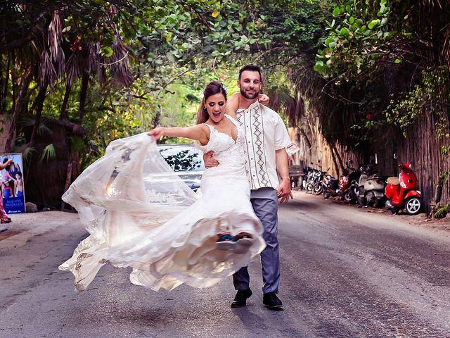 Tristan and Jimena's Wedding in Tulum, Mexico 24
