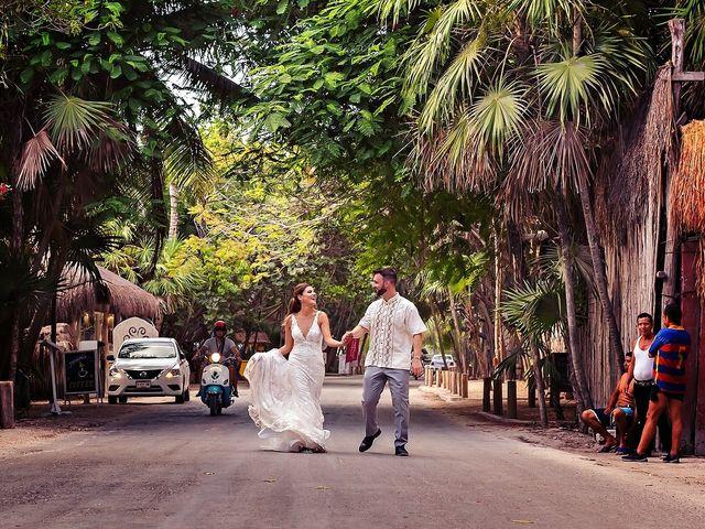 Tristan and Jimena's Wedding in Tulum, Mexico 25