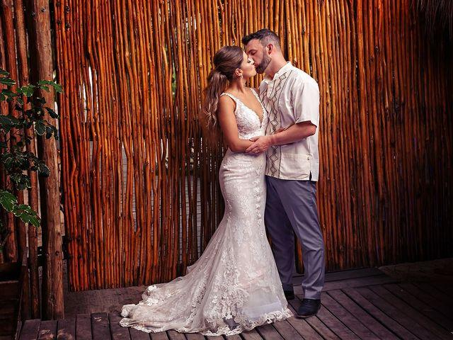 Tristan and Jimena's Wedding in Tulum, Mexico 27