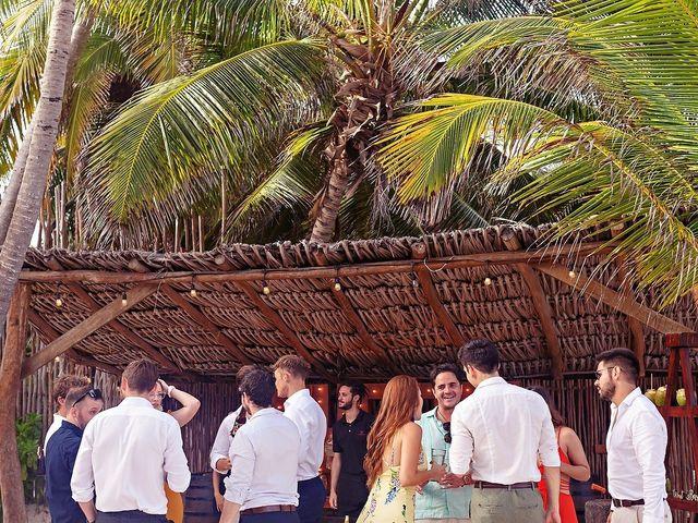 Tristan and Jimena's Wedding in Tulum, Mexico 28