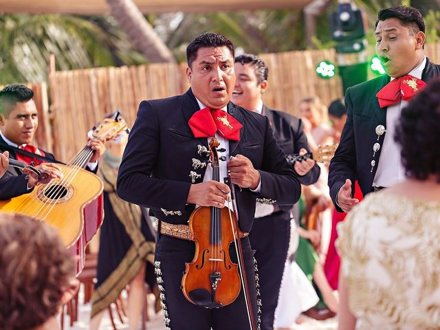 Tristan and Jimena's Wedding in Tulum, Mexico 29