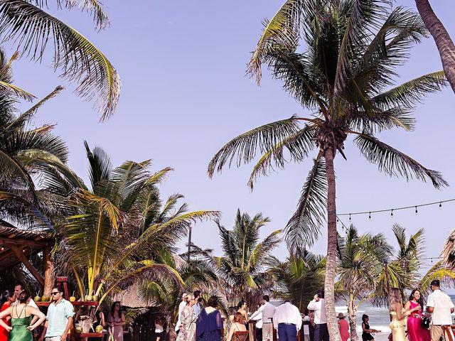 Tristan and Jimena's Wedding in Tulum, Mexico 31