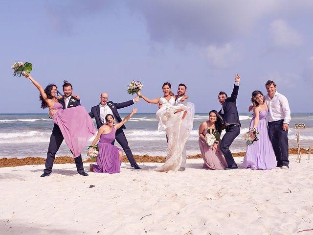Tristan and Jimena's Wedding in Tulum, Mexico 33