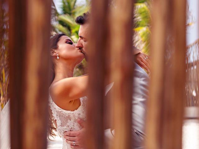 Tristan and Jimena's Wedding in Tulum, Mexico 36