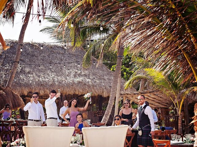 Tristan and Jimena's Wedding in Tulum, Mexico 37