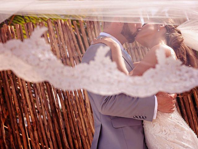 Tristan and Jimena's Wedding in Tulum, Mexico 38