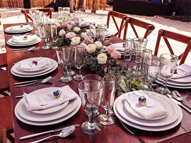 Tristan and Jimena's Wedding in Tulum, Mexico 44