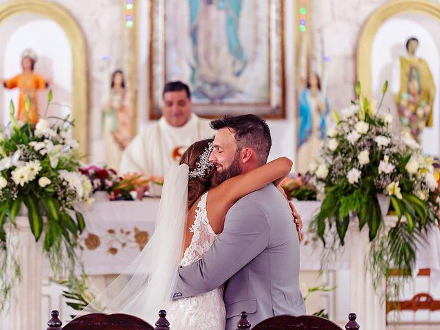 Tristan and Jimena's Wedding in Tulum, Mexico 47