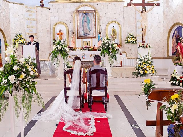 Tristan and Jimena's Wedding in Tulum, Mexico 53