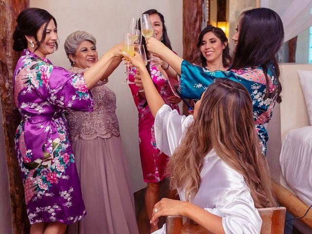 Tristan and Jimena's Wedding in Tulum, Mexico 60