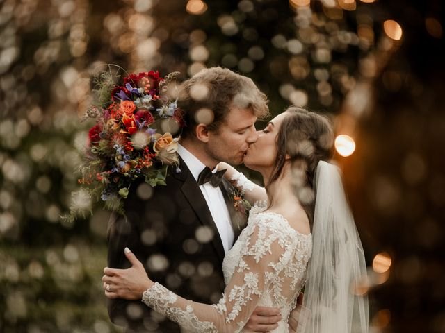 The wedding of Amber and Hudson