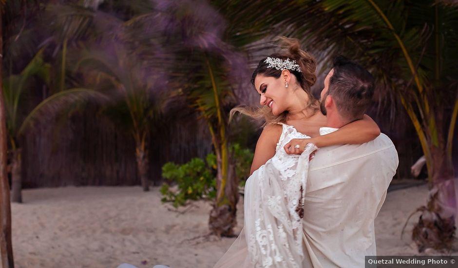 Tristan and Jimena's Wedding in Tulum, Mexico