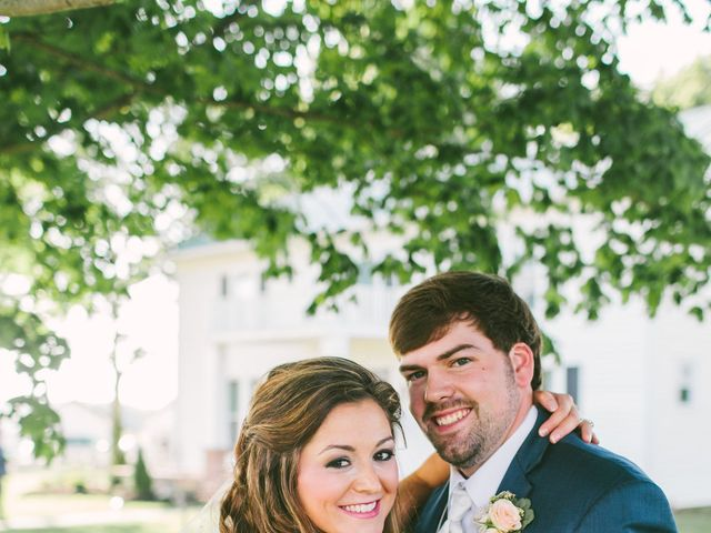 The wedding of Josh and Michala