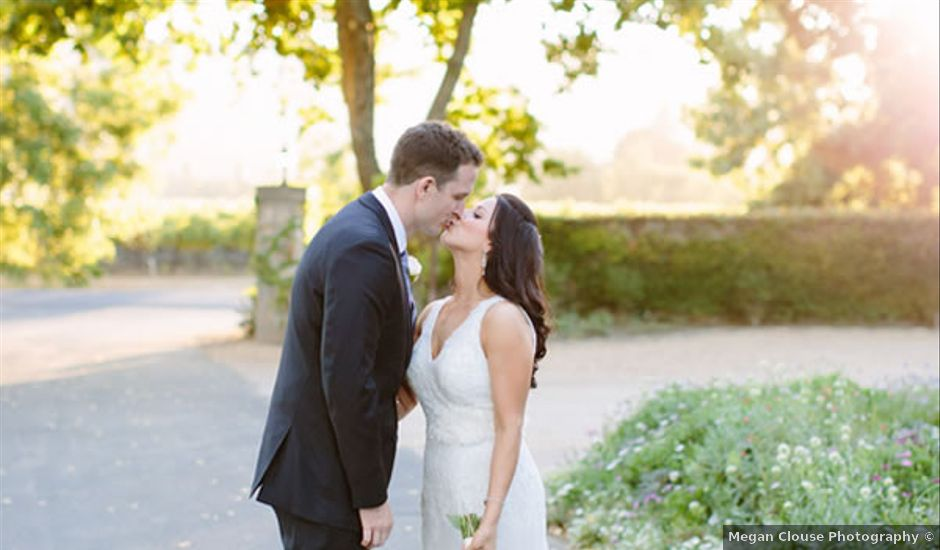 Ashley and Steve's Wedding in Rutherford, California