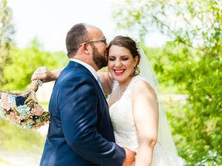 The wedding of Jamie and Brad