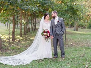 The wedding of Megan and Josh