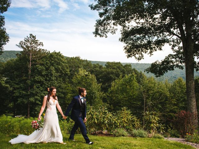 James and Emy's Wedding in Catskill, New York 12