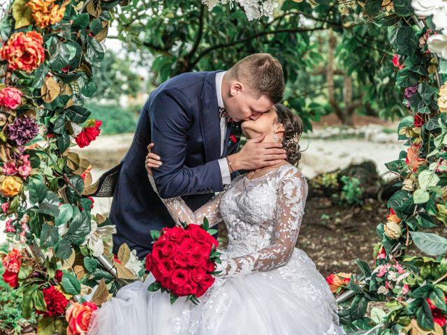 The wedding of Gabriela and William