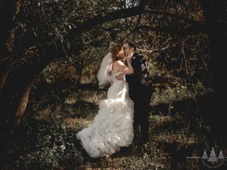 The wedding of Lauren Holmes and James Holmes  1