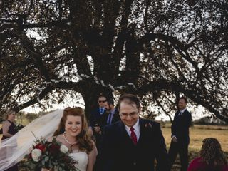 The wedding of Lauren Holmes and James Holmes  3