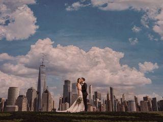 The wedding of Christie and Matt