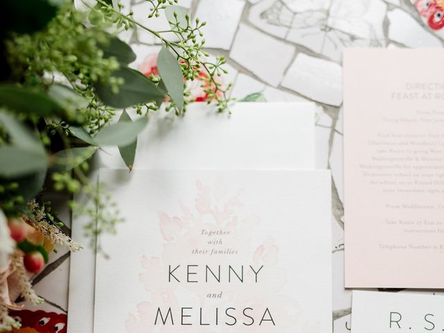 Kenny and Melissa's Wedding in Washingtonville, New York 5