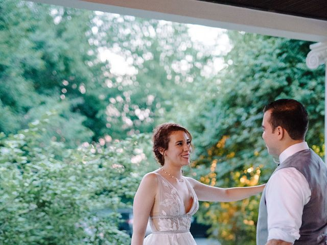 Kenny and Melissa's Wedding in Washingtonville, New York 13