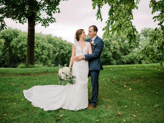 The wedding of Dana and John