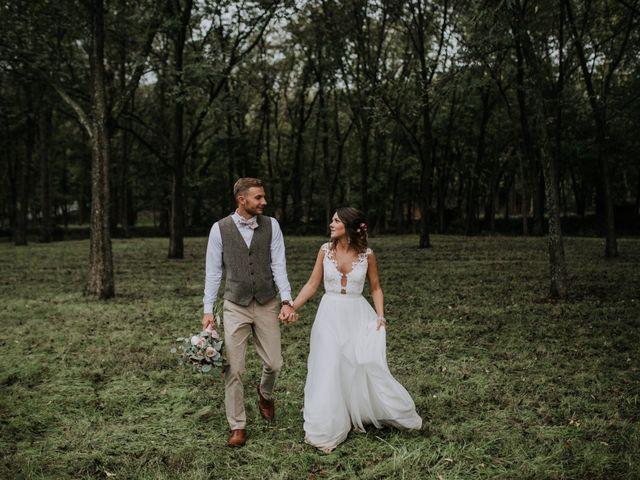 The wedding of Jennifer and Dakota